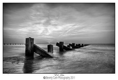 Photograph -  Rich Skies Mono by Beverly Cash