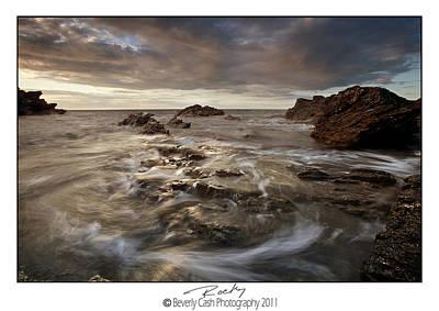 Photograph -  Rocky - At Trearddur Bay by Beverly Cash