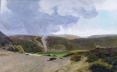 Janus Painting -  Scandinavian Landscape  by Janus la Cour