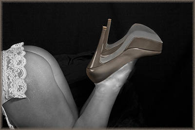 Photograph -  Showing Off New Shoes by Heavenly Bodies