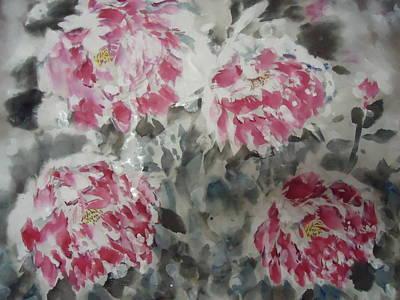 Snow Flower 01 Art Print