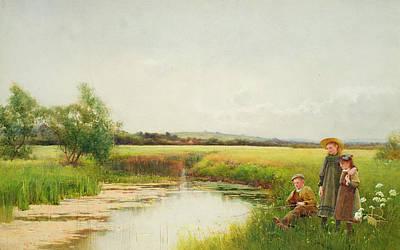 Sigmund Painting -  Springtime by Benjamin D Sigmund