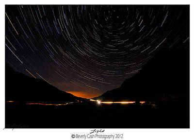 Photograph -  Stars And Cars by Beverly Cash