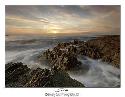 Photograph -  Subtle Sunset by Beverly Cash