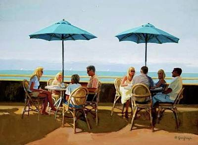 Painting -  Summer Blonde's by Mel Greifinger