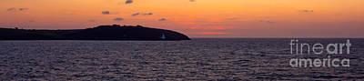 Sunrise Falmouth Bay Print by Brian Roscorla
