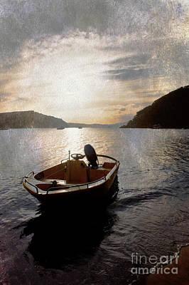 Sunset At Careel Bay Print by Avalon Fine Art Photography