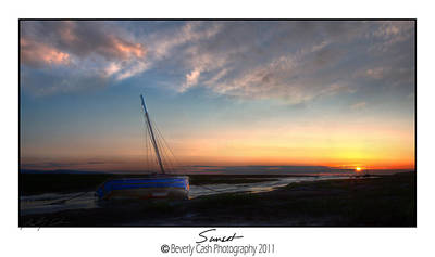 Photograph -  Sunset Down The River by Beverly Cash