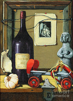 Painting -  The Good Times by Linda Apple