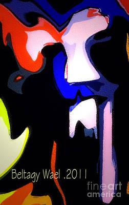 Tiger Face Original by Beltagy Beltagyb