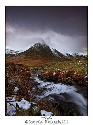 Photograph -  Tryfan by Beverly Cash