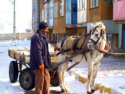 Photograph -   Turkish Horse Cart by Lou Ann Bagnall