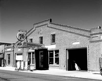 Photograph -  Union 76 Station by Joe  Palermo