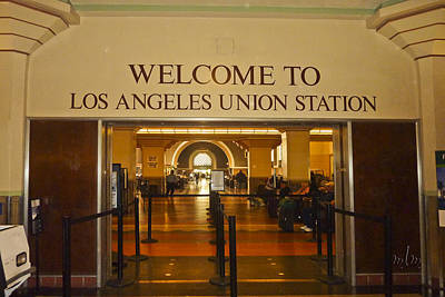 Photograph -  Union Station Los Angeles by Marie Morrisroe
