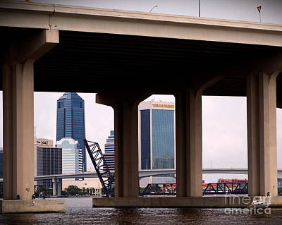Welcome To Jacksonville Art Print by Richard Burr