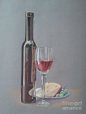 Wine Art Print by Ahto Laadoga