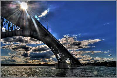Katharine Hepburn - 016 Peace Bridge Series II Beautiful Skies by Michael Frank Jr