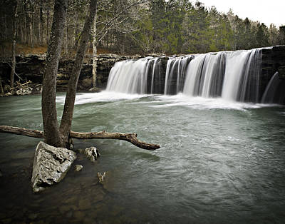 0805-0070 Falling Water Falls 3 Art Print by Randy Forrester