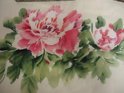 Flower 0727-1 Art Print