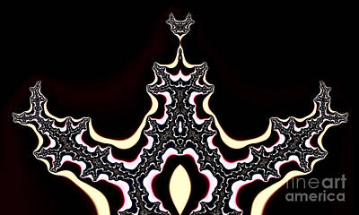 Divine Proportions Digital Art -  Fractal by Odon Czintos