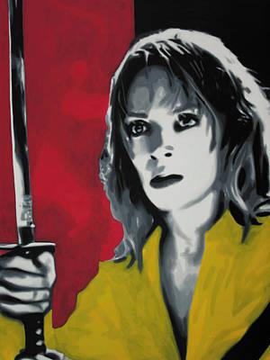 Kill Bill Painting - - Kill Bill - by Luis Ludzska