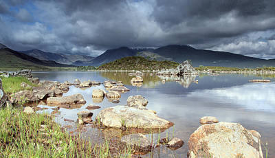 Photograph -  Lochan Na H Achlaise by Fiona Messenger