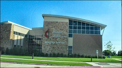 Photograph -  Ministry Center Umc North Texas Conference Coit Tx by Glenn Bautista