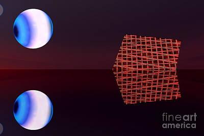 Planet Eye Art Print by Odon Czintos
