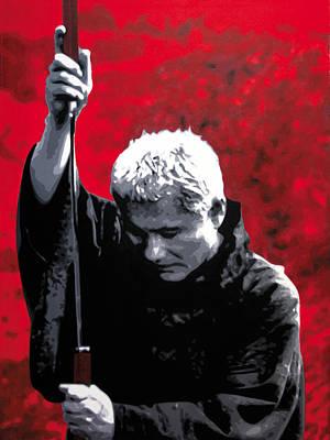 Kill Bill Painting - - Zatochi - by Luis Ludzska