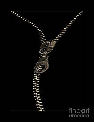 Zip Art Print by Odon Czintos