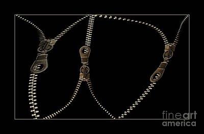 Zippers Art Print by Odon Czintos