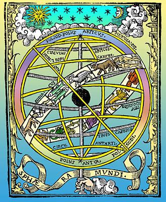 16th-century Astronomy Art Print by Cordelia Molloy