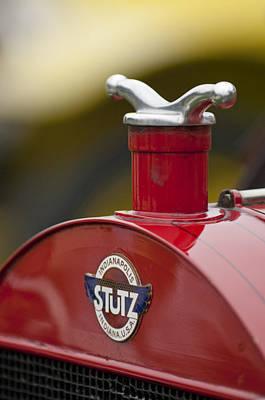 Photograph - 1913 Stutz Series B 4 Passenger Touring Hood Ornament by Jill Reger