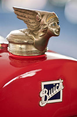Photograph - 1928 Buick Custom Speedster Hood Ornament by Jill Reger