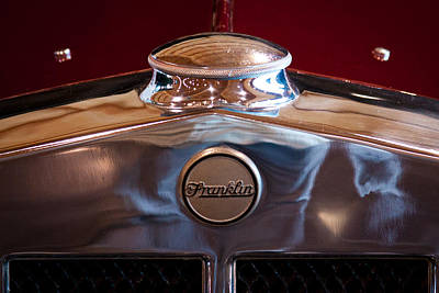 Franklin Photograph - 1929 Franklin Model 130 2-door Coupe by David Patterson