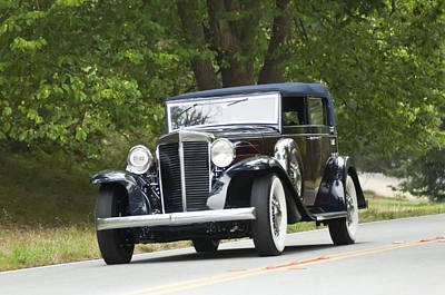 Photograph - 1931 Marmon Sixteen Lebaron Convertible Sedan by Jill Reger