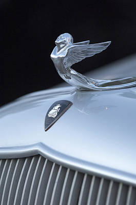Photograph - 1933 Plymouth Hood Ornament by Jill Reger