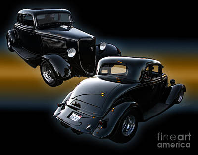 Photograph - 1934 Ford Coupe by Peter Piatt
