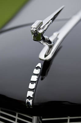 Photograph - 1936 Auburn 852 Supercharged Speedster Hood Ornament  by Jill Reger