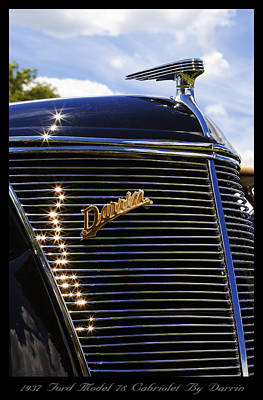 1937 Ford Model 78 Cabriolet Convertible By Darrin Original by Gordon Dean II
