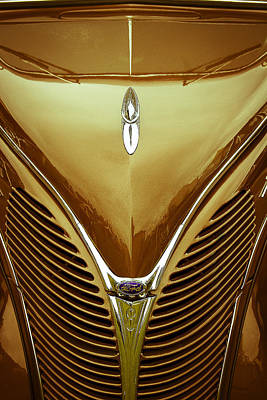 Jb Photograph - 1938 Ford Deluxe Coupe by John  Bartosik