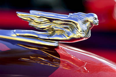 Photograph - 1941 Cadillac Hood Ornament by Jill Reger