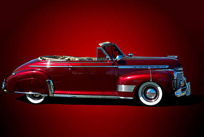 Photograph - 1941 Chevrolet  Special Deluxe Convertible by Tim McCullough
