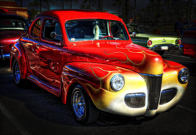 Photograph - 1941 Ford Coupe  by Saija  Lehtonen