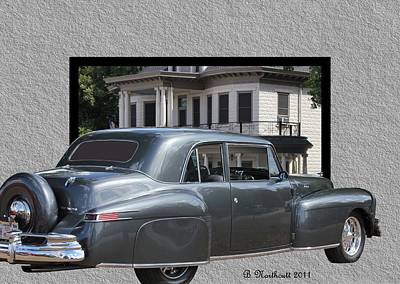 1947 Lincoln Continental Coupe Art Print by Betty Northcutt