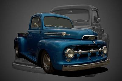 Photograph - 1951 Ford F1 Pickup Truck by Tim McCullough