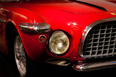 Abstract Airplane Art - 1953 Ferrari 212 Vignate Coupe by David Patterson