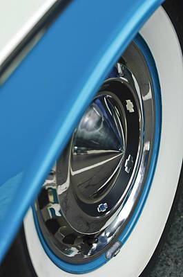 Photograph - 1955 Chevrolet Belair Wheel by Jill Reger
