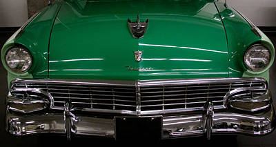 Ford Photograph - 1956 Ford Fairlane 2 Door Convertible by David Patterson