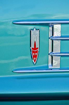 Photograph - 1958 Oldsmobile 98 Emblem by Jill Reger